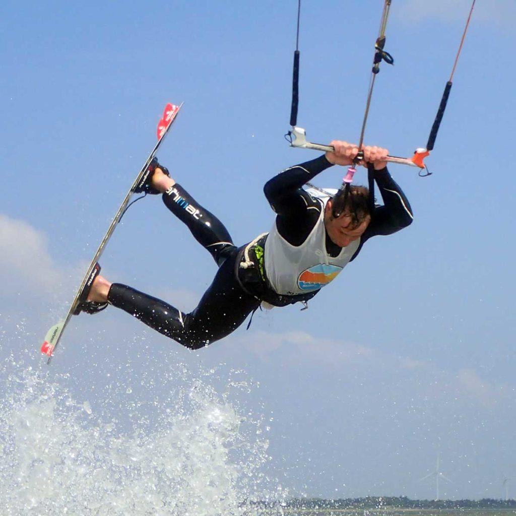 kitesurfing denmark lesson